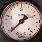 Mano détendeur gaz neutre Azote C 20 bars