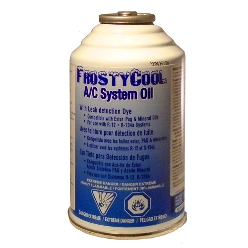 Huile Clim Auto FrostyCool System Oil + traceur UV