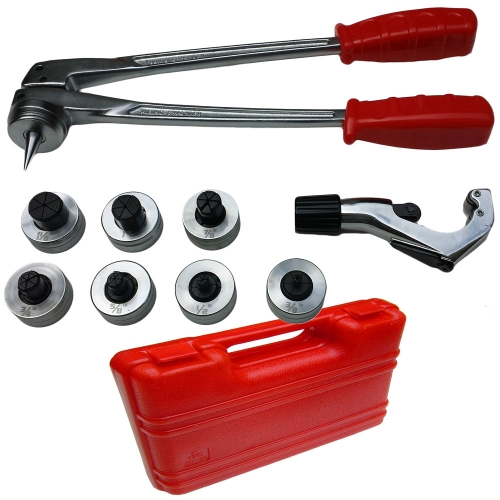 Coffret Pince a emboiture pour tubes plomberie 10-12-16-19-22-25-28 mm