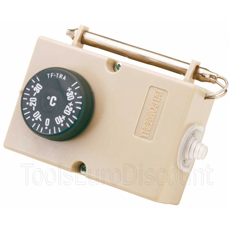 Thermostat electromecanique avec sonde d 39 ambiance int gr e for Thermostat chambre froide