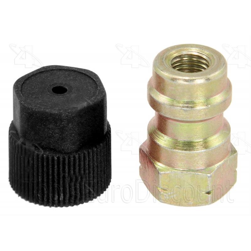 raccord adaptateur r12 r134a haute pression avec poussoir de valve s. Black Bedroom Furniture Sets. Home Design Ideas