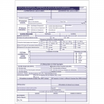 Carnet CERFA 15497*02 - 50 fiches d'intervention + Bordereau de suivi des déchets dangereux (BSDD)