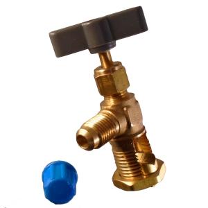 Vanne perforante robinet autoperceur pour tube cuivre