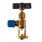 Vanne perforante robinet autoperceur pour tube cuivre de frigo 3/16'' à 3/8''