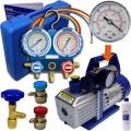 Vacuum Pump Down Kit for Car A/C