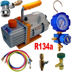Vacuum Pump Down Kit for R404A