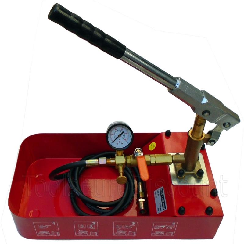 Pompe d 39 preuve manuelle pompe d 39 essai de pression 50 - Pompe a epreuve ...