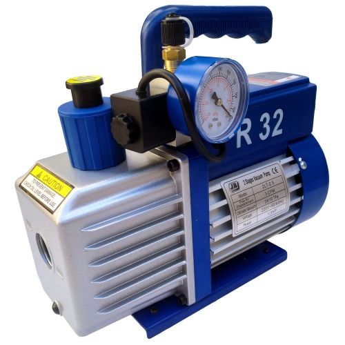 pompe a vide frigoriste + vacuometre 70L R32-HFO-R1234yf