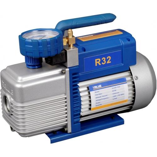 Pompe à vide antidéflagration R32 HFO1234yf avec vacuomètre 85 L