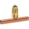 1/4'' OD Copper Tee Access Fitting