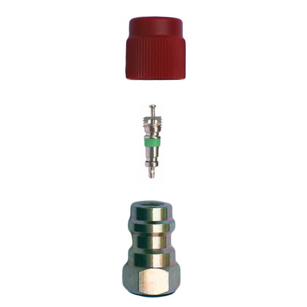 raccord adaptateur r12 r134a haute pression chez ted outils pour climatisation et frigoristes. Black Bedroom Furniture Sets. Home Design Ideas