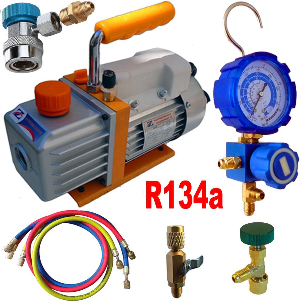 Kit Recharge Clim R134 : kit pompe a vide pour recharge clim automobile au r134a ~ Gottalentnigeria.com Avis de Voitures