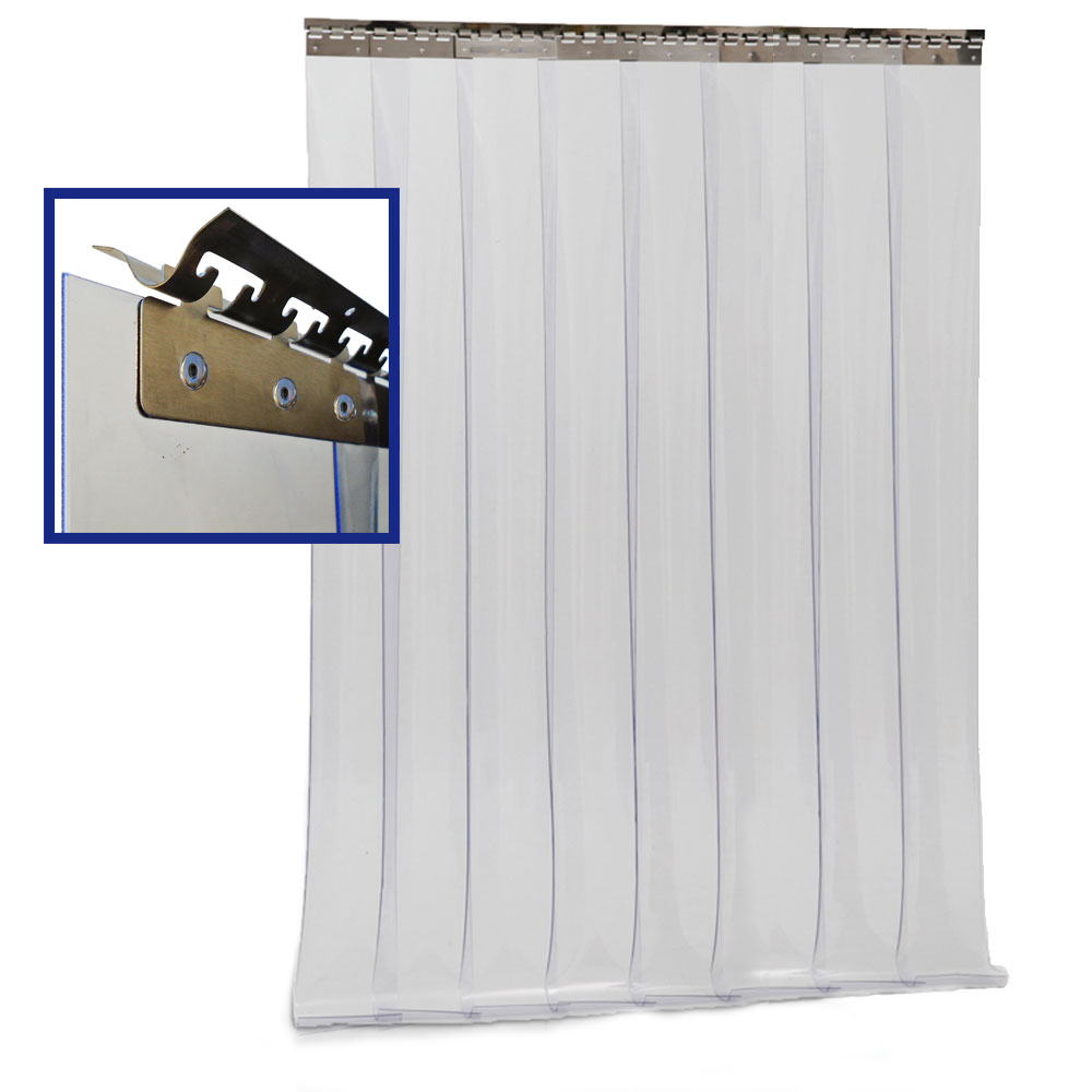 rideau lani res pvc complet coupe froid 1200 x 2000 mm chez ted outils pour climatisation et. Black Bedroom Furniture Sets. Home Design Ideas